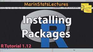install packages tutorial 1 12