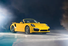 convertible porsche porsche turbo s cabriolet yellow porsche convertible hd wallpaper