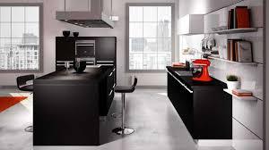 cuisine grise plan de travail noir plan de travail cuisine gris maison design bahbe com