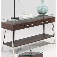 progressive furniture t456 05 studio city console table in dark
