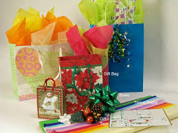 gift wrap tissue paper how to wrap presents in a gift bag dummies