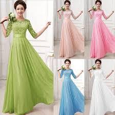 wedding maxi dresses 2015 hot new women formal lace prom wedding maxi dress