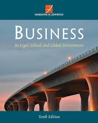 business its legal ethical and global environment 10th edition