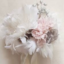 feather flower how to assemble a rustic wedding bouquet with feather flowers and