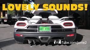 koenigsegg wrapped the sounds of 2011 exotic cars revving accelerating burning
