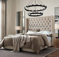 skyline furniture velvet king tufted wingback bed light gray king tufted wingback headboard unique tufted headboard king size bed