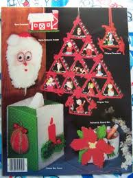 s h us plastic canvas patterns book ornaments garland