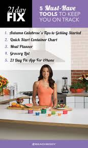 5 tools to keep you on track with 21 day fix the beachbody blog