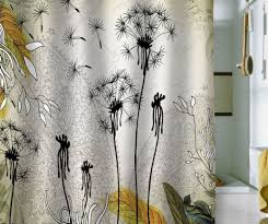 Shower Curtain Amazon Shower Delight Perfect Colorful Fabric Shower Curtains