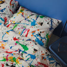World Map Duvet Cover Uk by Buy Snurk Splatter Duvet Set Single Amara