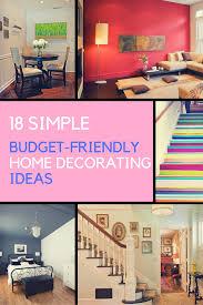 ideas for home decor on a budget home decorating ideas 18 diy budget friendly designs