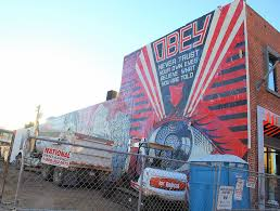 Wall Scenes by San Diego Scenes Shepard Fairey Wall Mural Urban Outfitt U2026 Flickr