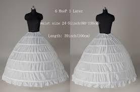 wedding dress hoop wholesale 6 hoops bridal wedding petticoat marriage gauze skirt