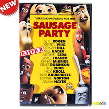 sausage party dvd widescreen rated r movie w special features new