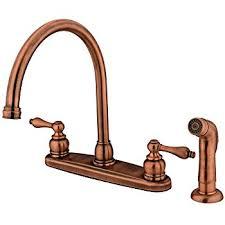 vintage kitchen faucet kingston brass kb726alsp kitchen faucet antique copper touch on