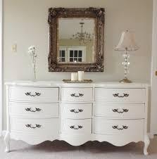 Metal Bedroom Dresser Large White Metal Bedroom Dresser Mixed Engraving Brown Mirror