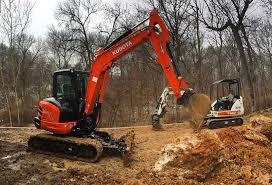 this kubota excavator is a beast kubota kubotaexcavator farm