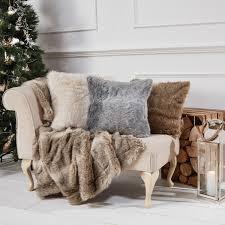 fur throws for sofas dakota stone luxury faux fur throw julian charles