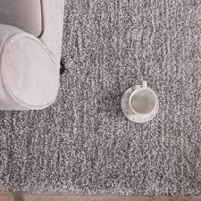 Grey Shaggy Rugs Luxurious Supersoft Thick Grey Shaggy Rug Kukoon