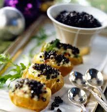 caviar recettes cuisine pommes de terre en robe de caviar