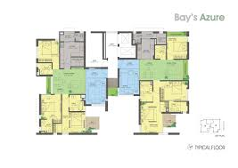 Azure Floor Plan Bay U0027s Azure Banani U2013 Bay Developments Ltd