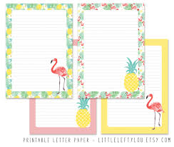 letter writing paper printable printable letter paper tropical stationery writing letter zoom