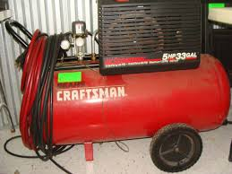 craftsman 5 hp 33 gallon air compressor
