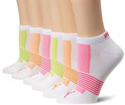s non terry runner sock 6 pack white 9 11