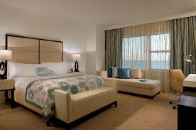 Twin Bed Vs Double Bed Hotel Partial Ocean View Room In Miami Beach The Ritz Carlton South Beach