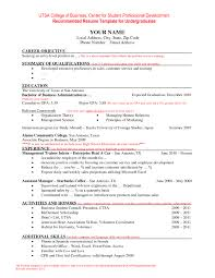 Best Resume Format by Examples Of Resumes Resume Good For With Best Samples 89 Amazing