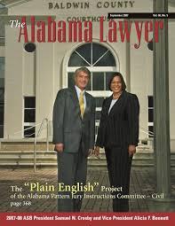 Dr Mack Barnes Birmingham Al Lawyer Sept 2007 Web By Alabama State Bar Association Issuu