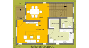 floor plan for small house homeplansindia house plans home plans small house plan