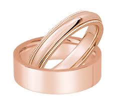 Wedding Rings Rose Gold by 10k Rose Gold Wedding Bands Rose Gold Band Ring