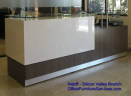 Affordable Reception Desk Indoff Silicon Valley Archive Reception Desk Custom