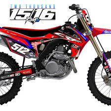 honda motocross bike honda graphics archives rival ink design co custom motocross