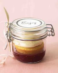 wedding cake jars buttermilk cupcakes in a jar