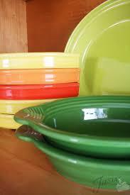 tangerine fiesta dinnerware always festive
