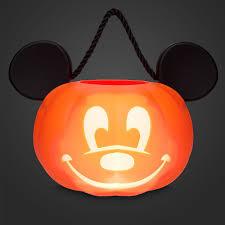 Lighted Halloween Buckets Amazon Com Disney Park Mickey Mouse Pumpkin Light Up Halloween