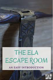 escape rooms the ultimate guide for english class spark creativity