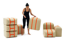 shapeshifting furniture this shape shifting couch stacks itself like suitcases gizmodo