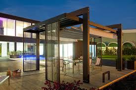 Pool Pergola Designs by Brilliant Modern Covered Pergola Design Near Pool On The Grass