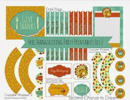 free printable thanksgiving gift tags free thanksgiving party printables set 2 second chance to dream