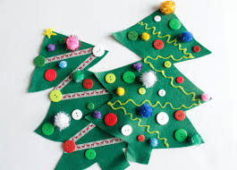 felt tree craft for kids u2014 crafthubs