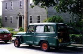 willys jeep truck file willys jeep wagon green in yard maintenance use jpg