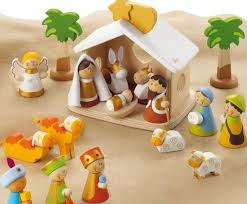 wooden nativity set teach kids the christmas story with the charming sevi heirloom