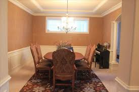 dining room color schemes chair rail room color ideas with chair