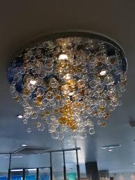Glass Bubble Chandelier Bespoke Bubble Chandelier Chantelle Lighting Bespoke Lighting Uk