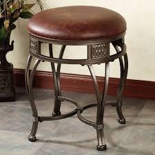 Bathroom Vanity Stools And Chairs 20 Inch Vanity Chair Swivel Bathroom Vanity Stools Small Bedroom