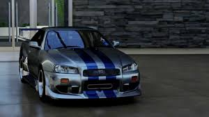 nissan skyline fast and furious 7 1999 nissan skyline gt r fast u0026 furious edition forzavista