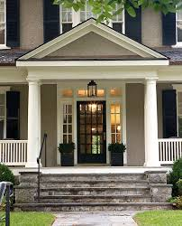 Front Doors by Best 25 Black Shutters Ideas On Pinterest Home Exterior Colors